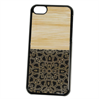 Bamboo Gothic Cover iPhone 5C
