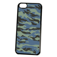 Blue camouflage  Cover iPhone 5C
