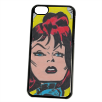 BLACK WIDOW Cover iPhone 5C