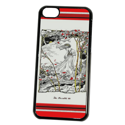 Disegno liberty Cover iPhone 5C