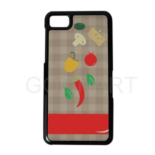 cover smartphone con verdure