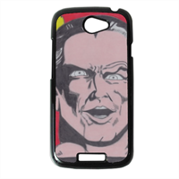 BLACK ADAM Cover HTC One S