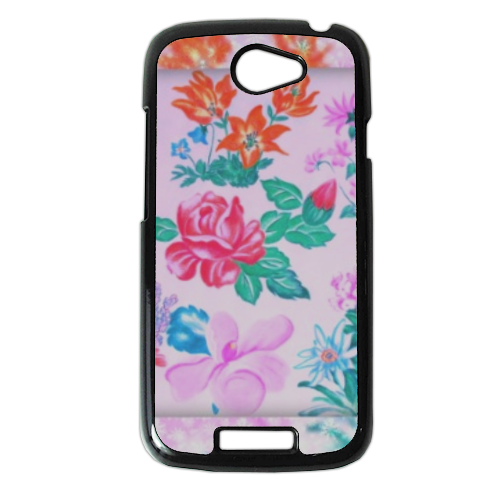 Flowers Cover HTC One S