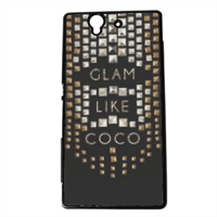 Glam Like Coco Cover Sony Xperia Z