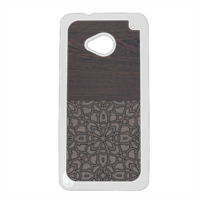 Wenge and Gothic Cover HTC One M7