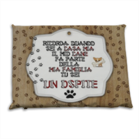 Dog Tablet  Cuscino mare