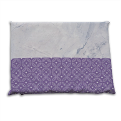 Purple marble_ Cuscino mare