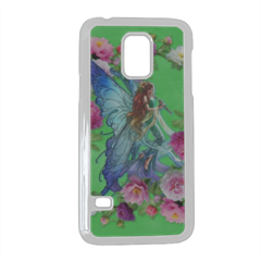 Fata con Fiori Cover Samsung Galaxy S5 mini