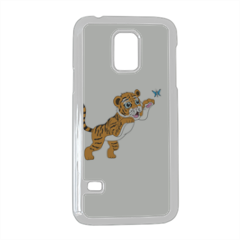 Tigrotto felice che gioca Cover Samsung Galaxy S5 mini
