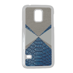 Snake blue and sand Cover Samsung Galaxy S5 mini