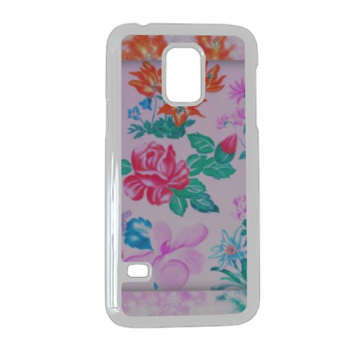 Flowers Cover Samsung Galaxy S5 mini