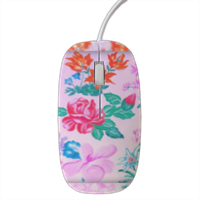 Flowers Mouse stampa 3D