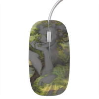 Natural quiet of Marilyn Mouse stampa 3D