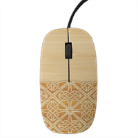 Bamboo and Gothic Mouse stampa 3D