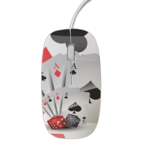 Poker Mouse stampa 3D