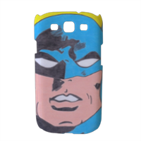 BATMAN 2014 Cover Samsung galaxy s3 stampa 3D