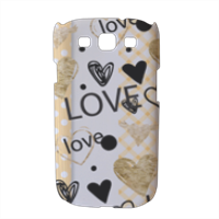 Love and Love Cover Samsung galaxy s3 stampa 3D