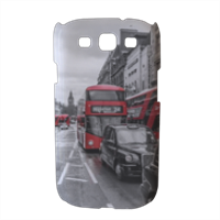 London red and white Cover Samsung galaxy s3 stampa 3D