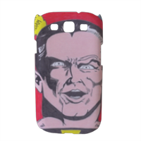 BLACK ADAM Cover Samsung galaxy s3 stampa 3D