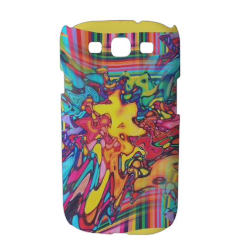 Multicolor 2015 Cover Samsung galaxy s3 stampa 3D