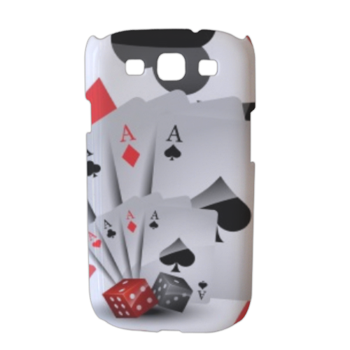 Poker Cover Samsung galaxy s3 stampa 3D