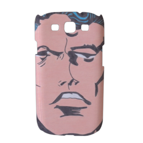 SUPERMAN 2014 Cover Samsung galaxy s3 stampa 3D