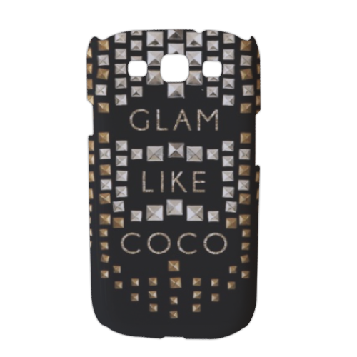 Glam Like Coco Cover Samsung galaxy s3 stampa 3D
