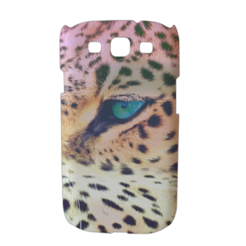Leopard Cover Samsung galaxy s3 stampa 3D