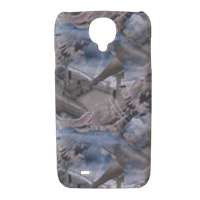 Lyon Rampant Cover Cover Samsung galaxy s4 stampa 3D
