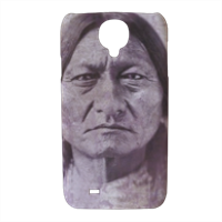 Sitting Bull warrior Cover Samsung galaxy s4 stampa 3D