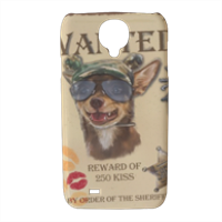 Wanted Rambo Dog Cover Samsung galaxy s4 stampa 3D