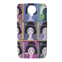 Sequenza donna  Cover Samsung galaxy s4 stampa 3D
