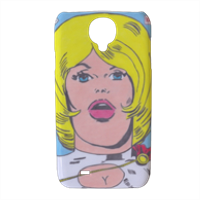 POWER GIRL Cover Samsung galaxy s4 stampa 3D