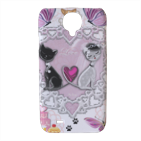 Sweet Love with Dog Cover Samsung galaxy s4 stampa 3D