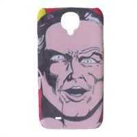 BLACK ADAM Cover Samsung galaxy s4 stampa 3D