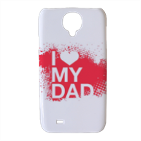 I Love My Dad - Cover Samsung galaxy s4 stampa 3D