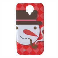 pupazzo di neve Cover Samsung galaxy s4 stampa 3D