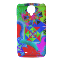 Geometrie Cover Samsung galaxy s4 stampa 3D