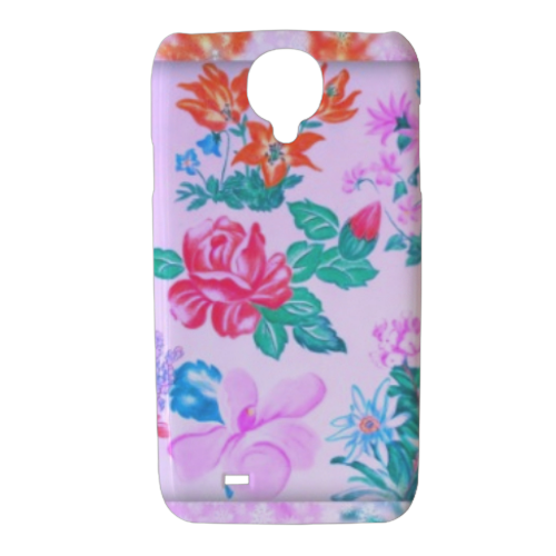 Flowers Cover Samsung galaxy s4 stampa 3D