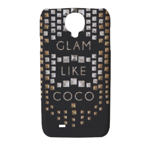Glam Like Coco Cover Samsung galaxy s4 stampa 3D