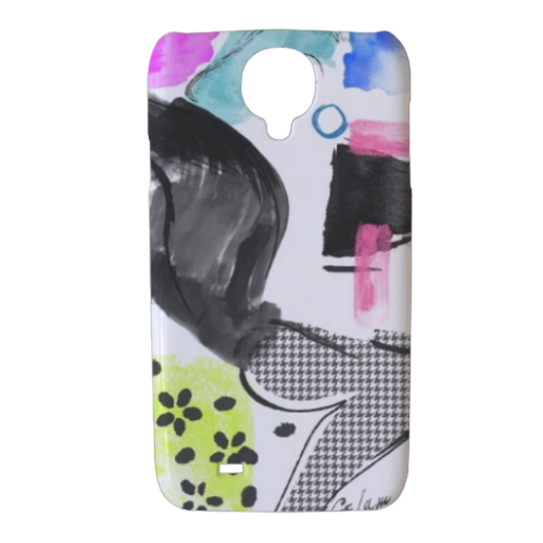 Glamour Cover Samsung galaxy s4 stampa 3D