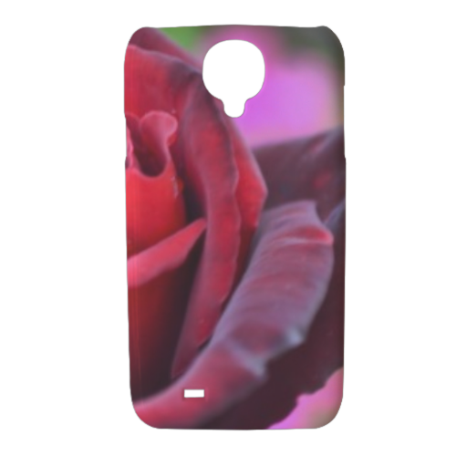 gocce su rose Cover Samsung galaxy s4 stampa 3D