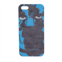 PANTERA NERA Cover iPhone5 stampa 3D