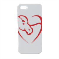 logo Cavallo Cuore Cover iPhone5 stampa 3D