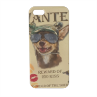 Wanted Rambo Dog Cover iPhone5 stampa 3D