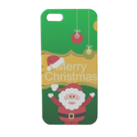 Babbo natale decorato Cover iPhone5 stampa 3D