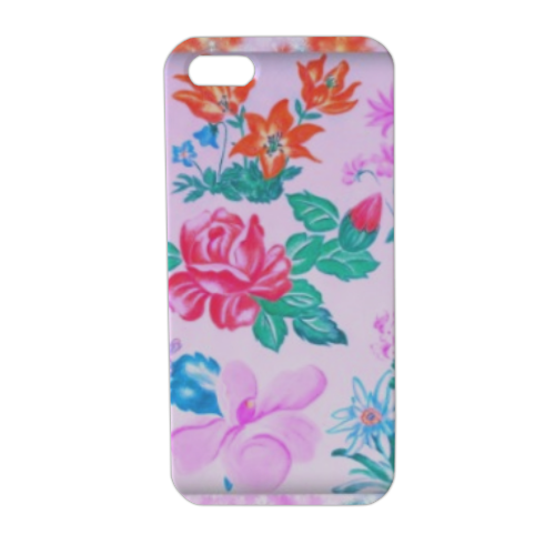 Flowers Cover iPhone5 stampa 3D