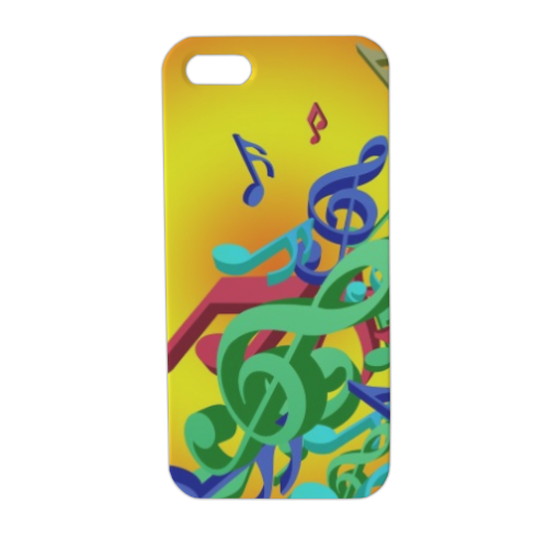 Musica Cover iPhone5 stampa 3D