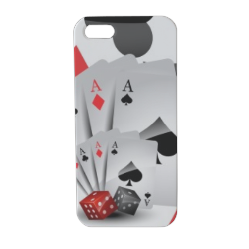 Poker Cover iPhone5 stampa 3D