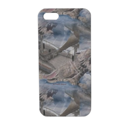 Lyon Rampant Cover Cover iPhone5 stampa 3D